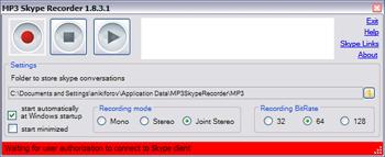 mp3 skype recorder 1.9.0.1