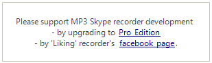 Latest MP3 Skype Recorder releases
